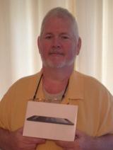 Mark Long with iPad