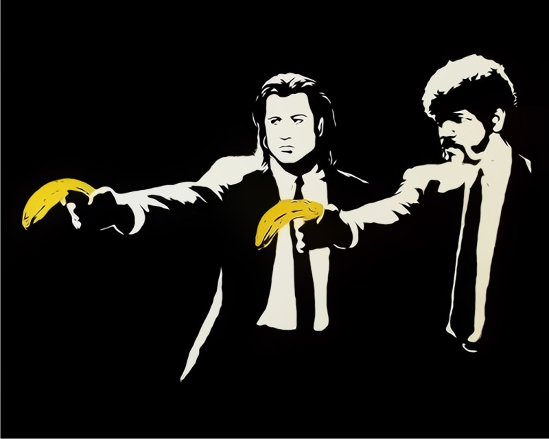 Pulp Fiction_Banksy