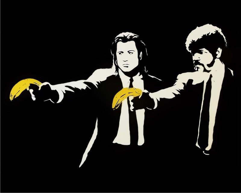 Pulp Fiction_Banksy
