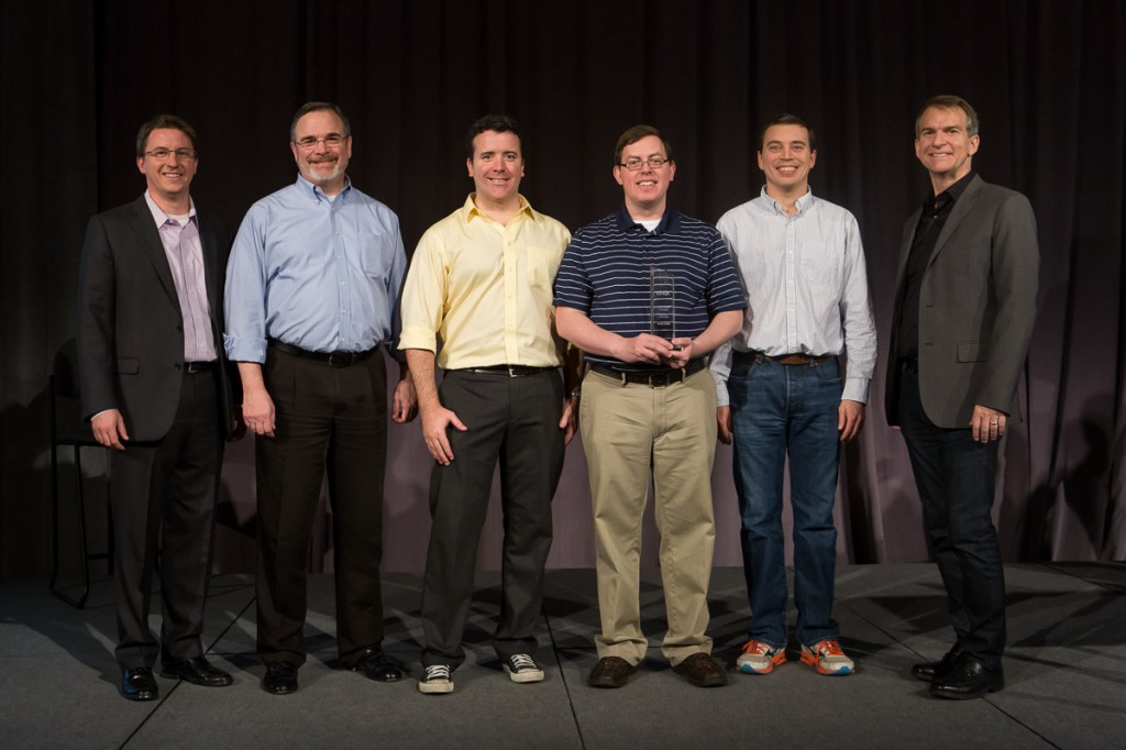 (L-R) Mitch Parker, VP and General Manager, Cloud Services Group, Citrix; Ralph Stevens, Director of Sales, TekLinks; Justin Limbaugh, Systems Engineer, TekLinks; Patrick Westcott, Managed & Cloud Services Engineer, TekLinks; Scott Swanburg, Sr. Director, Cloud App Delivery Sales, Citrix.