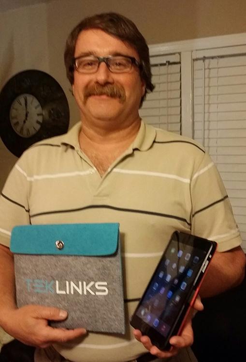 Tim S. Wins an iPad Mini