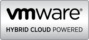 VMware Hybrid Cloud Powered Logo - Metal