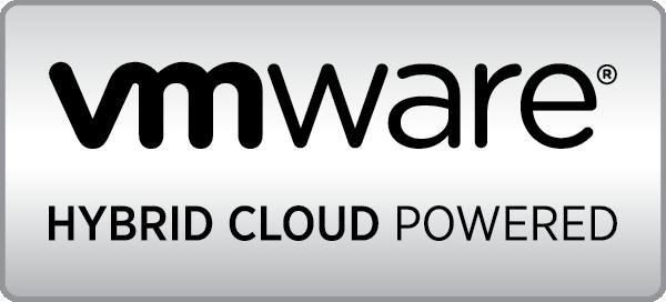 VMware Hybrid Cloud Powered Logo - Metal